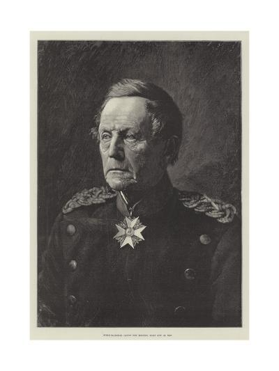 Field-Marshal Count Von Moltke, Born 26 October 1800--Giclee Print