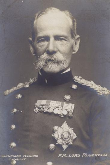 Field Marshal Earl Roberts--Photographic Print