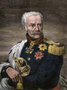 Field Marshal Gebhard Leberecht Von Blucher, Prussian Commander at Waterloo