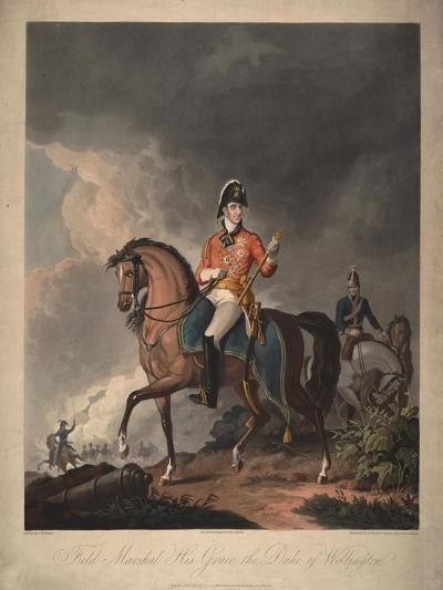 Field Marshal His Grace the Duke of Wellington, 1814-John Massey Wright-Giclee Print