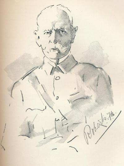 Field Marshal Lord Roberts of Kandahar (1832-1914), British Soldier, C1901-Mortimer Luddington Menpes-Giclee Print