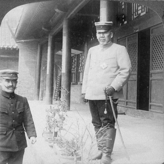 Field Marshal Marquis Oyama Iwao, Japanese Soldier, Mukden, Manchuria, 1906-Underwood & Underwood-Giclee Print