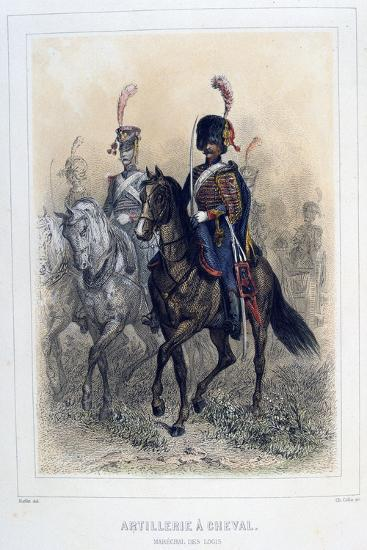 Field Marshal of the Horse Artillery, 1859-Auguste Raffet-Giclee Print