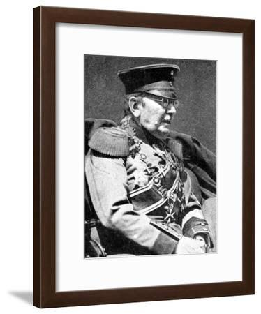 Field Marshal Von Der Goltz, Prussian Soldier, First World War, 1914--Framed Giclee Print