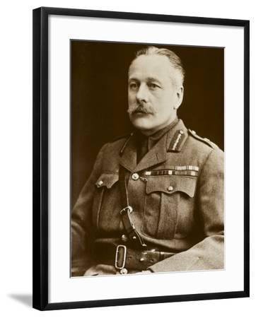 Field Marshall Sir Douglas Haig--Framed Photographic Print