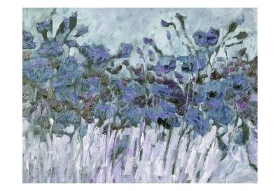 Field Of Blue-Kruk Kruk-Art Print