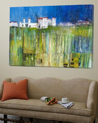 Field of Facades-Peggy Ann Turner-Loft Art