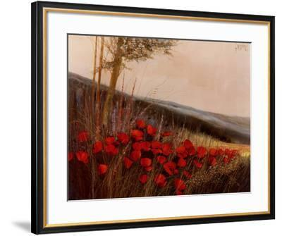 Field Of Poppies Art Print G Michaud Art Com