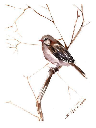 Field Sparrow 2-Suren Nersisyan-Art Print
