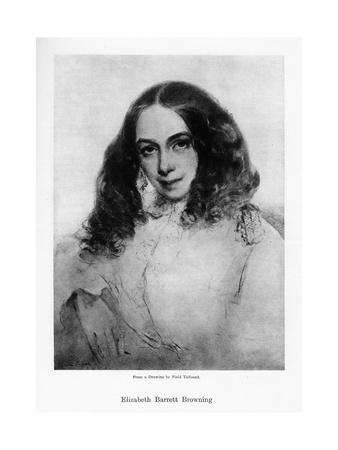 Elizabeth Barrett Browning, English Poet of the Victorian Era, Mid-19th Century