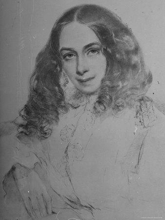 English Poet Elizabeth Barrett Browning