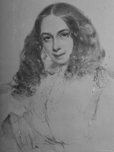 English Poet Elizabeth Barrett Browning by Field Talfourd