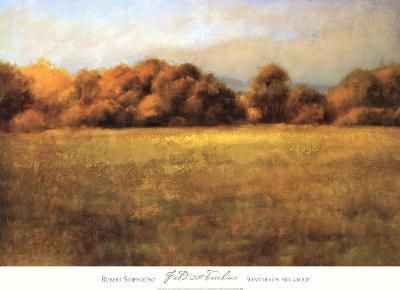 Field with Treeline-Robert Striffolino-Art Print