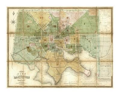 Baltimore, Maryland, c.1852