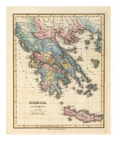 Graecia Antiqua, c.1823