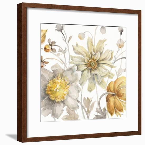 Fields of Gold III-Lisa Audit-Framed Art Print