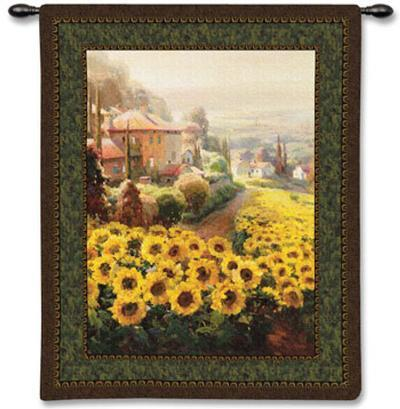Fields of Gold-Roberto Lombardi-Wall Tapestry