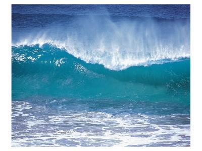 Fierce Waves--Art Print