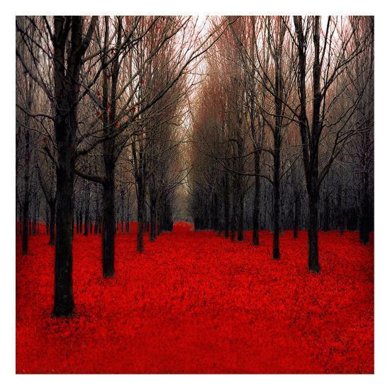 Fiery Autumn-Tracey Telik-Art Print