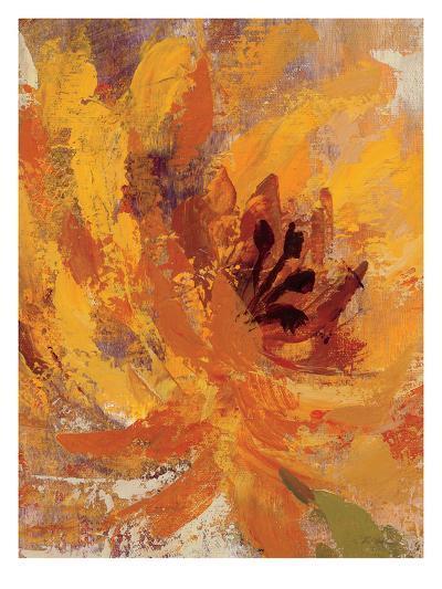 Fiery Dahlias I Crop-Wild Apple Portfolio-Art Print