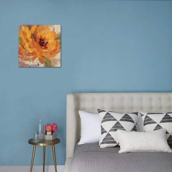 Fiery Dahlias I Premium Giclee Print Silvia Vassileva Art Com