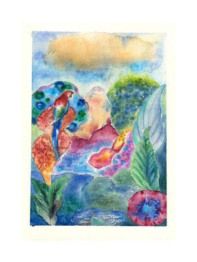 Fiery Scarlet Macaw, 2010-Louise Belanger-Giclee Print