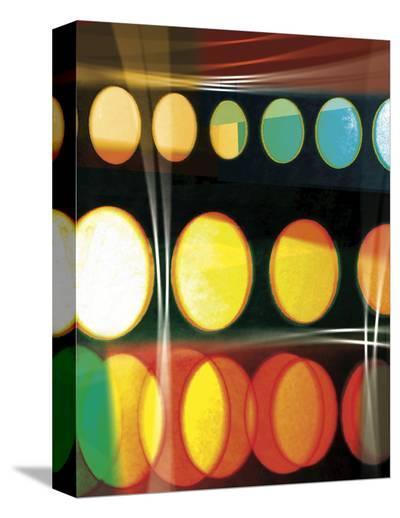 Fiesta Loca 1-Carolina Pecora-Stretched Canvas Print