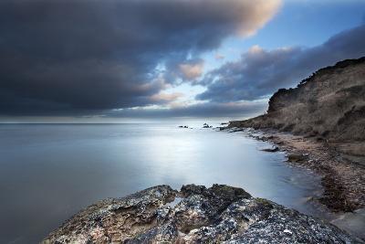Fife Coast at Dusk Near St. Andrews, Fife, Scotland, United Kingdom, Europe-Mark-Photographic Print