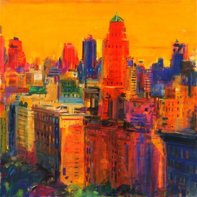 Fifth and Madison-Peter Graham-Giclee Print