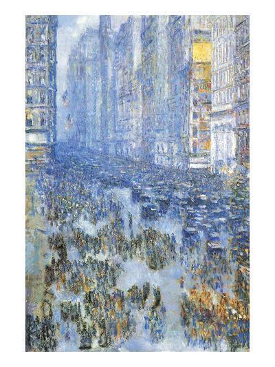 Fifth Avenue-Childe Hassam-Art Print