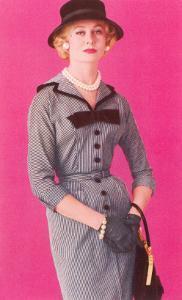 Fifties Haute Couture Dress