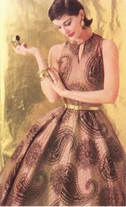 Fifties Paisley Dress