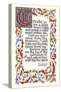 Fifty-First Psalm, King David