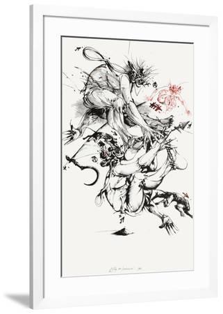 Fig. HT-Vladimir Velickovic-Framed Limited Edition