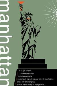 Manhattan Recipe by Fig & Melon Press