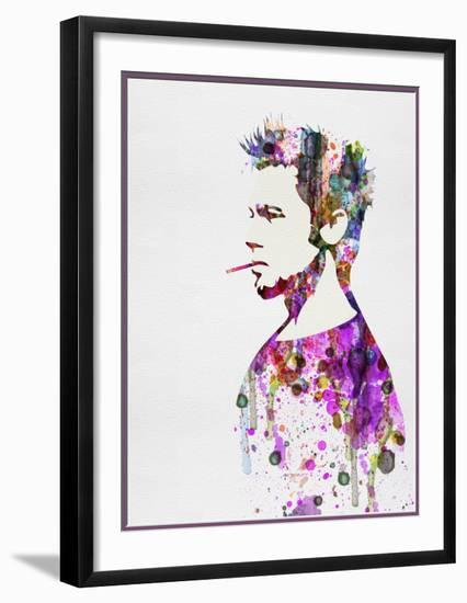 Fight Club Watercolor-Anna Malkin-Framed Art Print