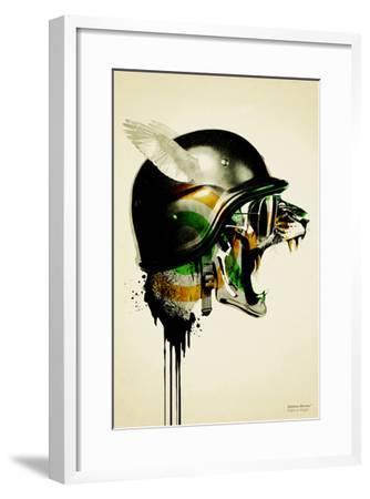 Fight or Flight-Hidden Moves-Framed Premium Giclee Print