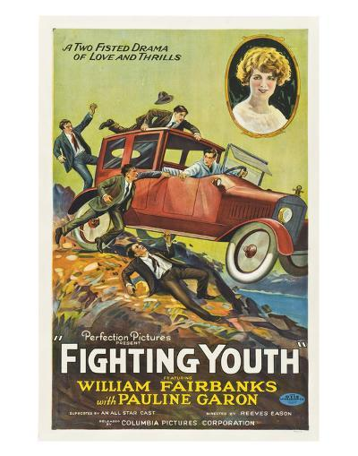 Fighting Youth - 1925--Giclee Print