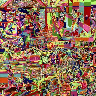 Fights-Josh Byer-Giclee Print