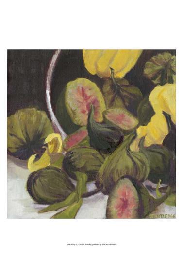 Figs II-Silvia Rutledge-Art Print