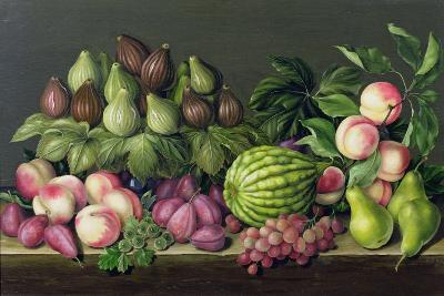 Figs, Melon and Gooseberries, 1998-Amelia Kleiser-Giclee Print