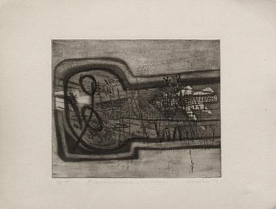 Figure couchée avec oiseau-Guillaume Corneille-Limited Edition
