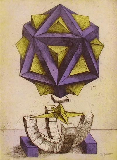 Figure géométrique II-Jorg Neizert-Limited Edition