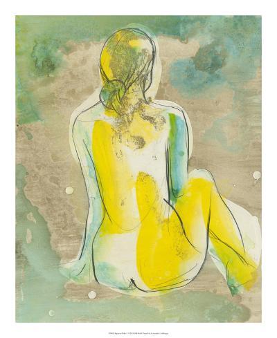 Figure in Relief I-Jennifer Goldberger-Premium Giclee Print