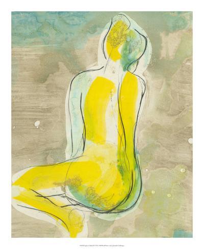 Figure in Relief II-Jennifer Goldberger-Premium Giclee Print