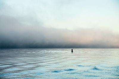 Figure in the Distance in Landscape-Sharon Wish-Photographic Print