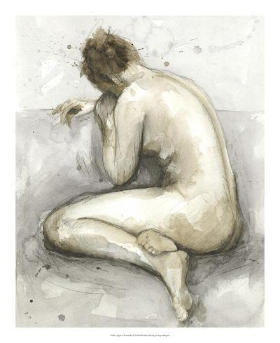 Figure in Watercolor II-Megan Meagher-Giclee Print