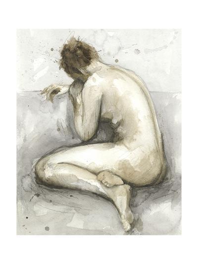 Figure in Watercolor II-Megan Meagher-Art Print