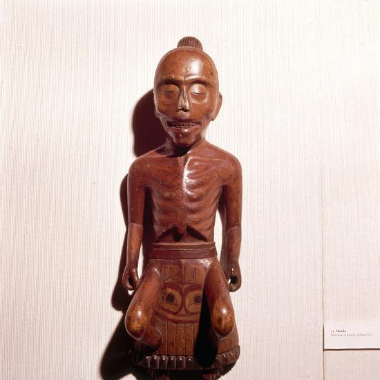 Figure of a Medicine Man, Haida Tribe, Pacific Northwest Coast Indian-Unknown-Giclee Print