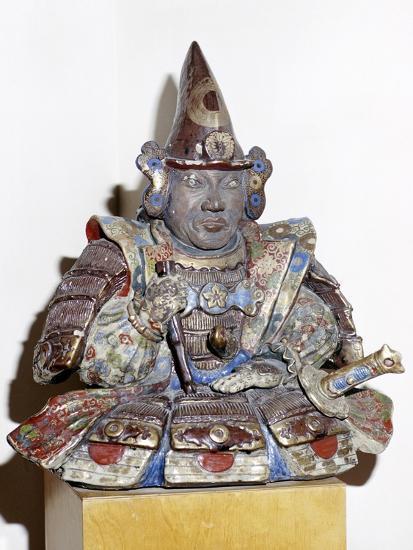 Figure of a Samurai warrior, Japanese. Artist: Unknown-Unknown-Giclee Print